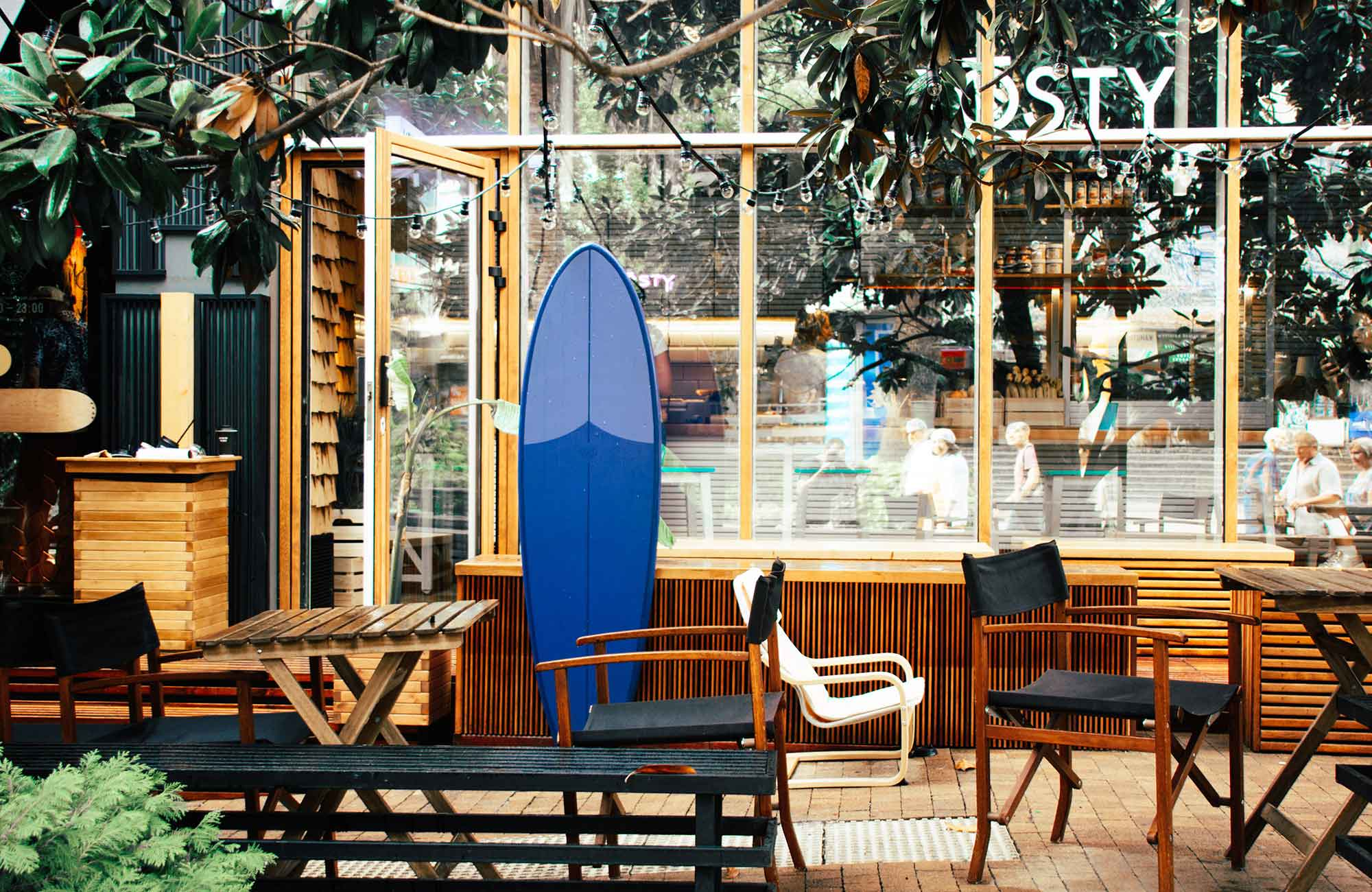 Surfboard in der Disruption