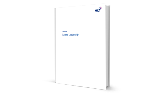 Cover Pre-read Lateral Leadership