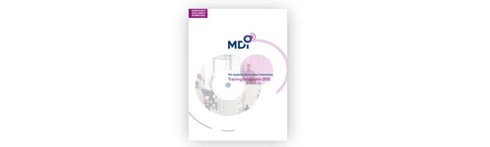 Offenes Programm bei MDI 2018
